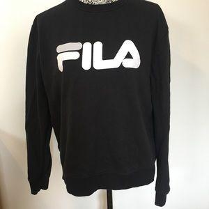 FILA crew neck sweatshirt with logo